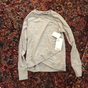 NWT Athleta Criss Cross Sweatshirt